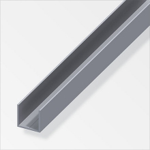 Quadrat-U Profile Aluminium-P-ALFER-35