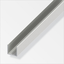 Quadrat-U Profile PVC-P-ALFER-36