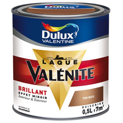 Laque Valénite brillant 0.5 L und 2 L-P-DULUXVAL-09